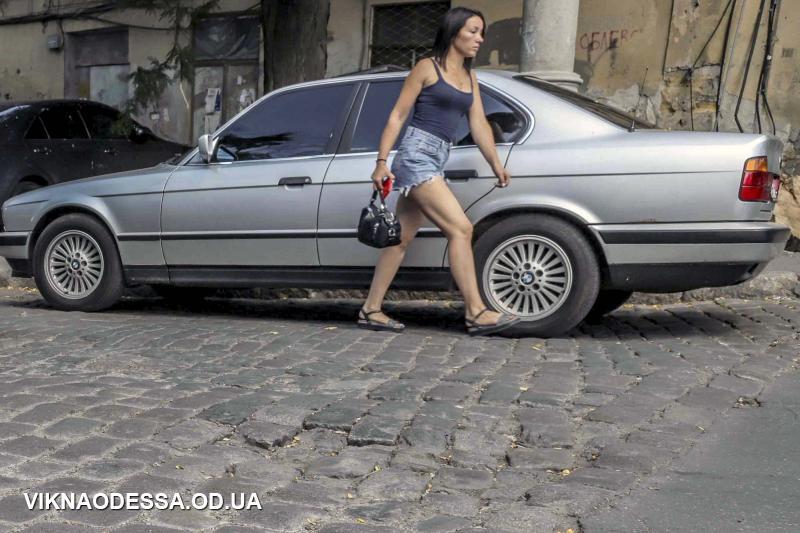 бруківка в Одесі