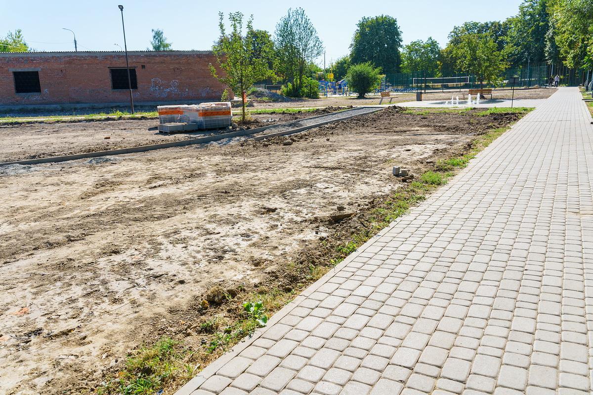 У Вінниці облаштовують нову зону відпочинку (Фото)