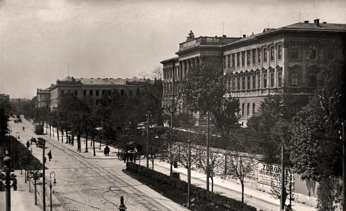 Вулиця Сапіга, фото початку ХХ століття