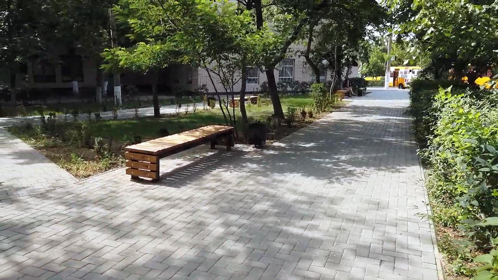 плитка у парку