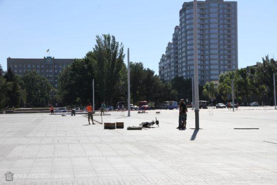 Read more about the article У Миколаєві на Соборній площі встановлять світлодіодну бруківку