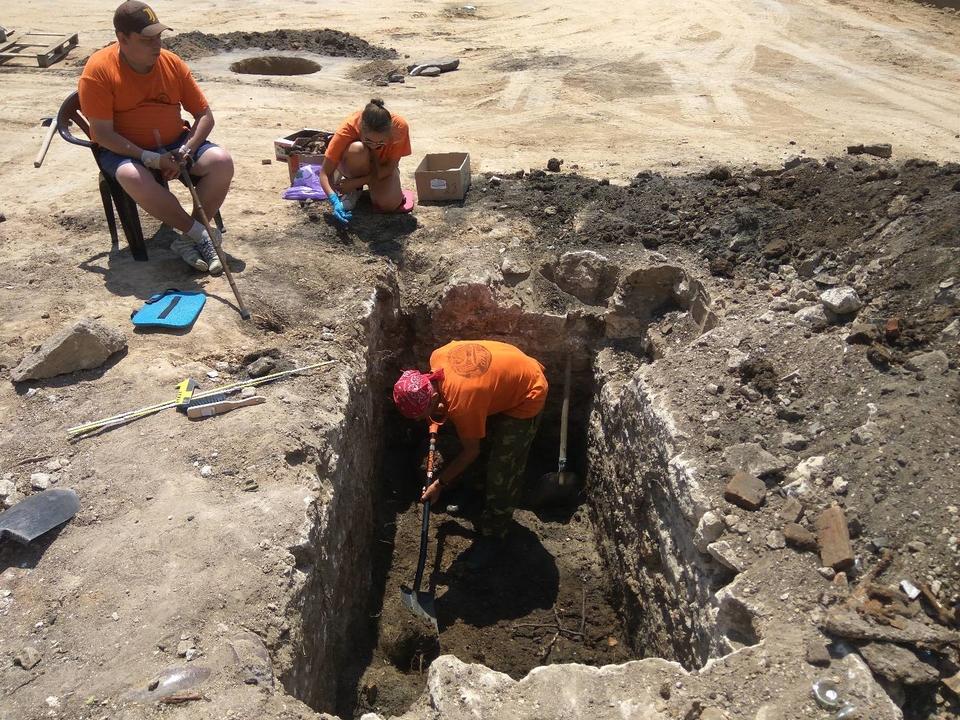 У центрі Миколаєва знайшли залишки будівлі магістрату кінця XVIII століття