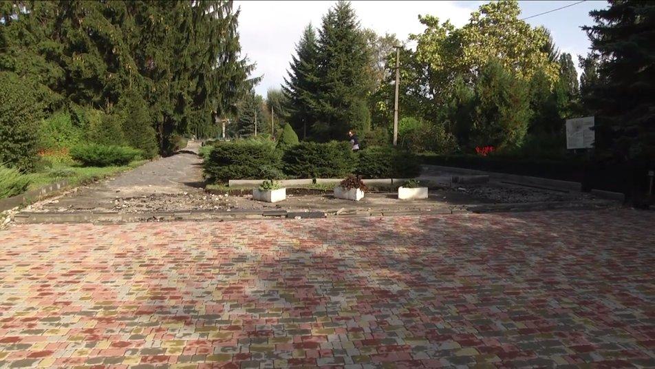 У Житомирі триває реконструкція ботанічного саду Поліського національного університету