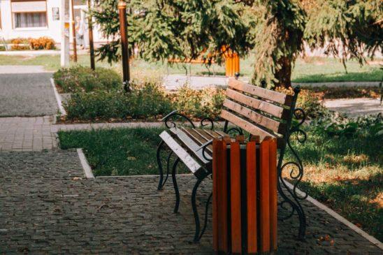 Read more about the article Відремонтовані дороги, нові тротуари та реконструйований парк в Опішнянській ОТГ