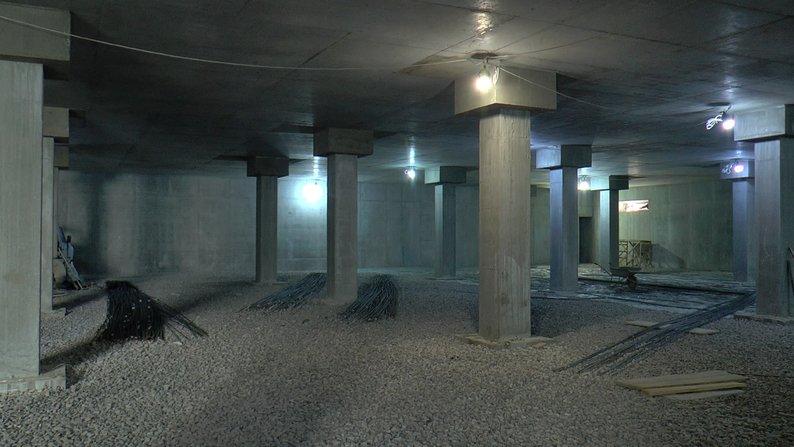 """До кінця року на Полтавщині добудують підземний паркінг для """"швидких"""""""