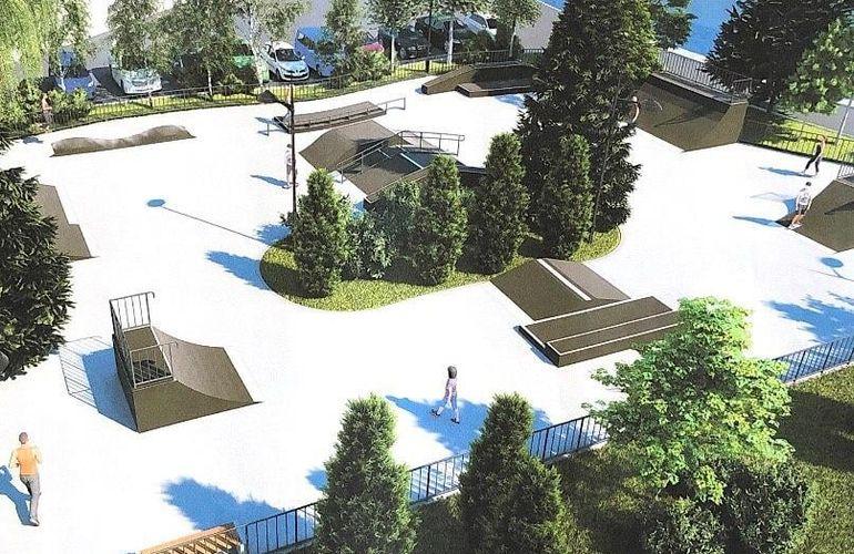 Read more about the article У Житомирі будують скейт-парк