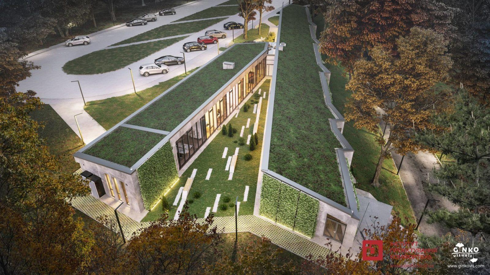 Шевченківський гай у Львові отримає адмінбудівлю з «зеленим» дахом — The Village Україна