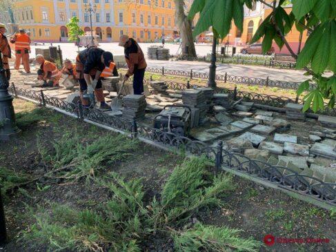 Read more about the article Капітальний ремонт Приморського бульвару