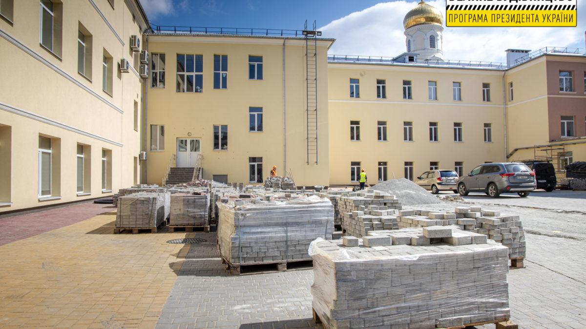 Read more about the article Ремонт найстарішої гімназії в Дніпрі