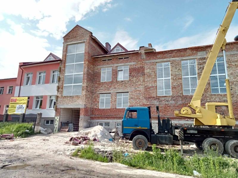Read more about the article Будівництво спорткомплексу у селі Новиця