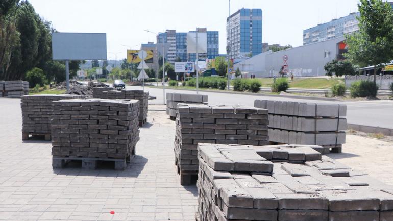Новини Дніпра: триває капітальний ремонт вулиці Кондратюка