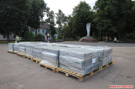 Read more about the article На майдані Путятинському реконструюють сквер