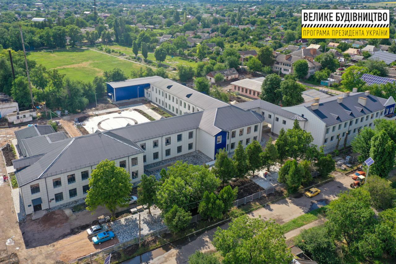 Завершується реконструкція найстарішої школи Апостолового . Суспільство ДНІПРОГРАД