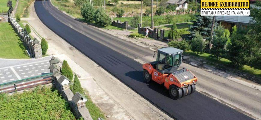 Read more about the article Ремонт регіональної дороги Р-21 Долина – Хуст
