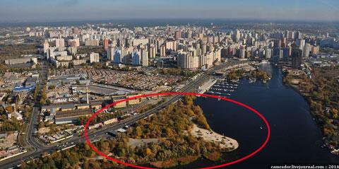 Read more about the article В Києві будують новий парк (Фото)