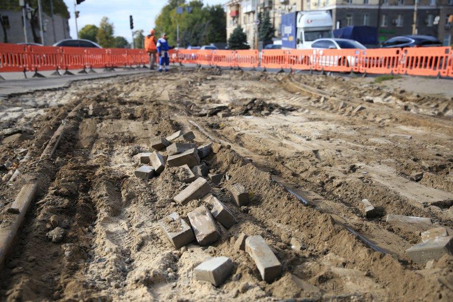 Read more about the article Ремонт трамвайної розвязки в Дніпрі